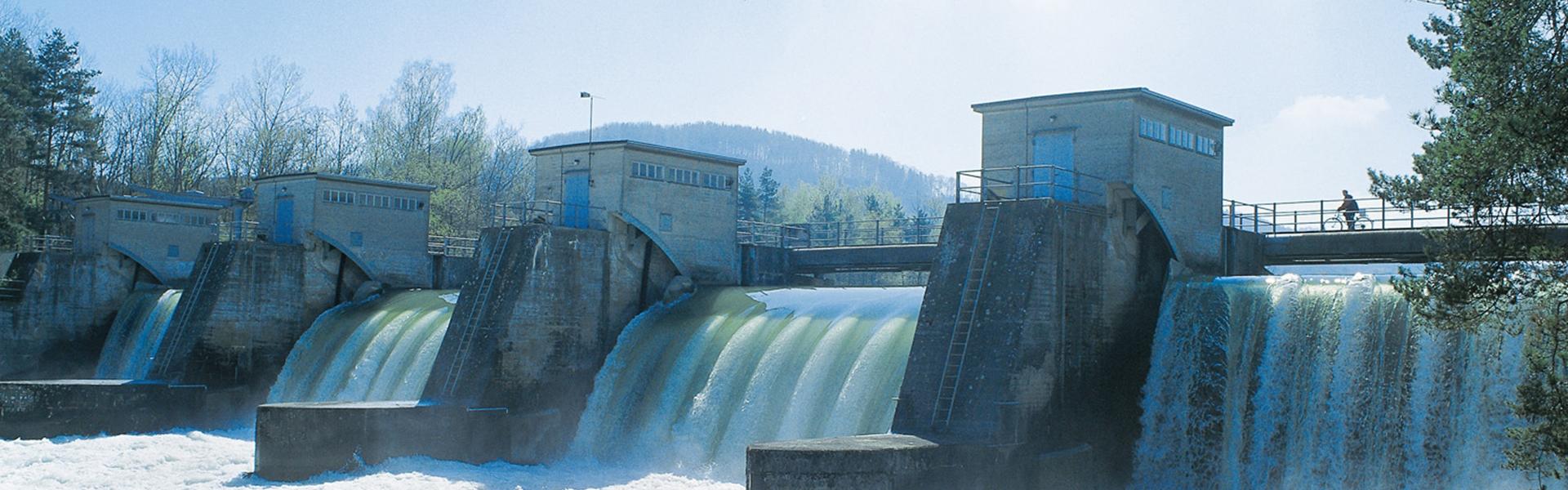 Erzeugungsanlage Wasserkraftwerk