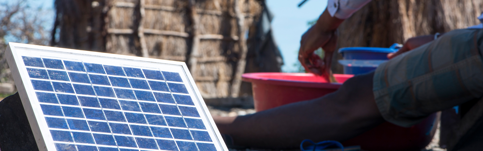 PV-Anlage in Afrika
